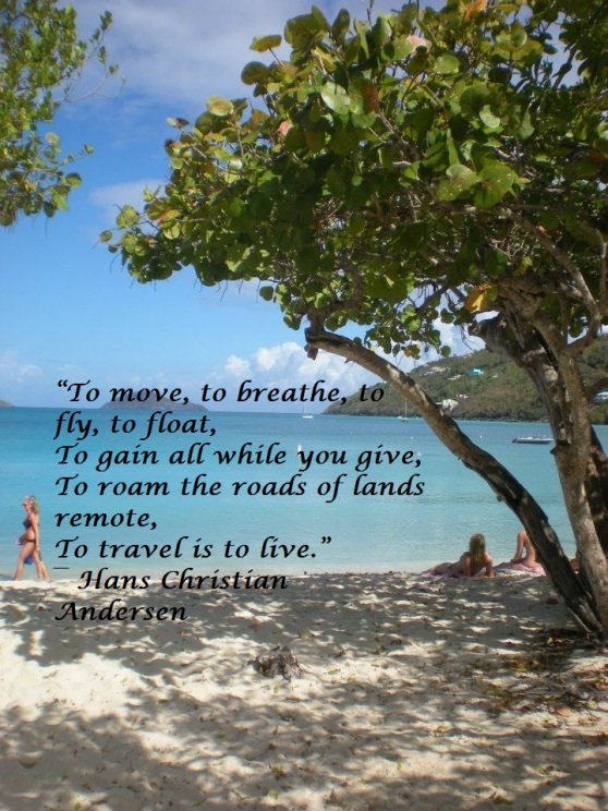 To Travel is to Live- Travel Quote